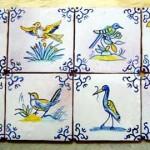 Azulejos pequeños, ideales para decorar muebles o integrarlos en zócalos
