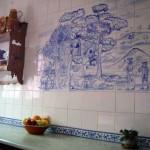Mural cerámica cocina