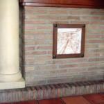 Decoración para restaurante rústico. Cerámica decorativa