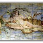 Murales baño. Cerámica artesanal
