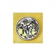 Plato motivos chinos, color verde