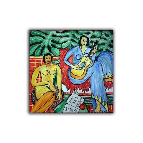 La m sica matisse cer mica art stica matilde - Murales de ceramica artistica ...