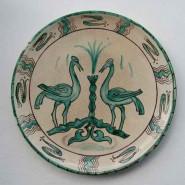 Plato. Motivo pájaros. Epoca andalusí