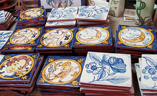 Z calo con azulejos r sticos cer mica art stica matilde - Zocalos de azulejos ...