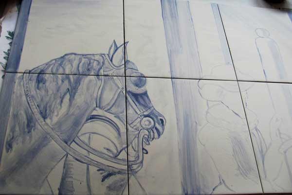 Boceto-caballo