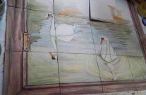 Mural para cocina