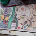 Colorido en la cerámica