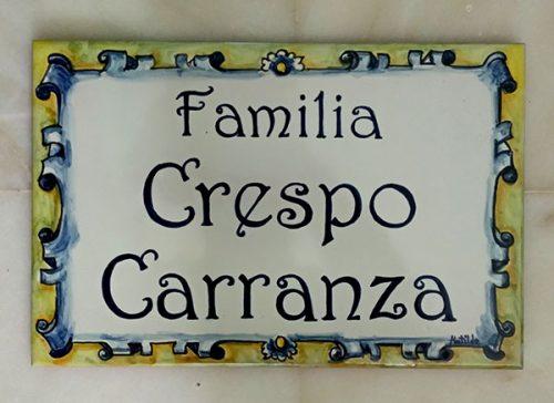 Familia Crespo.