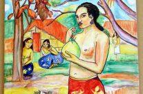 Reproducciones de Gauguin en cerámica
