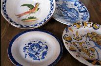 Reproducciones de platos antiguos