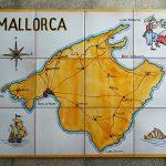 Mapa Mallorca años 60