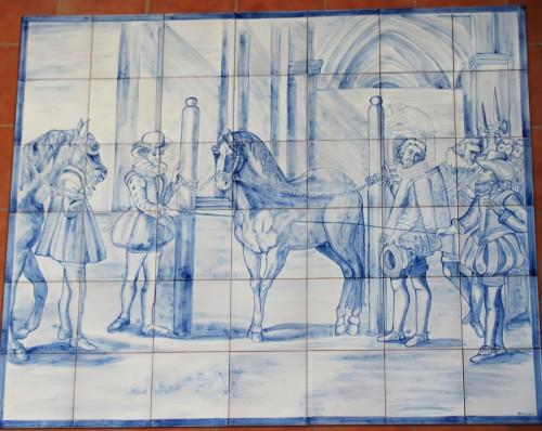 Mural cobalto