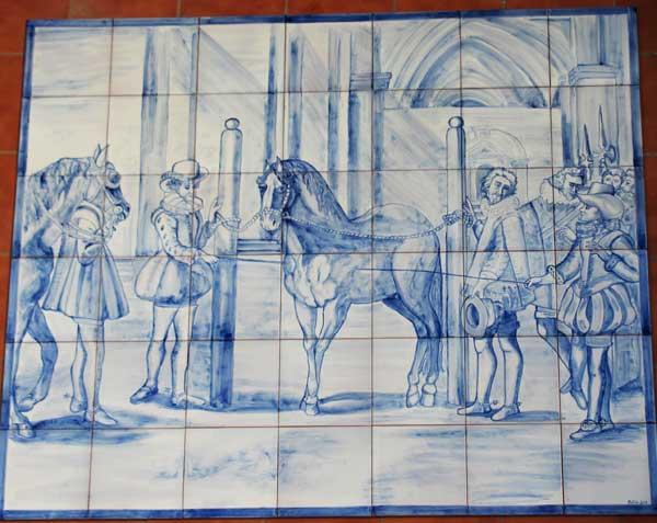 Mural-cobalto