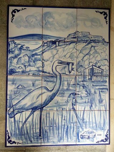 Mural garza