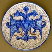 Plato. Dragón azul