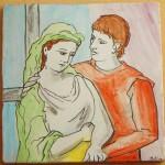 Cuadros de Picasso en cerámica