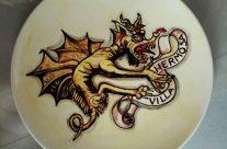Plato con dragón