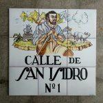 Calle San Isidro, como la de Madrid
