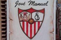Escudo de fútbol personalizado