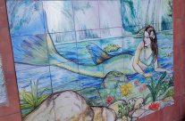Mural con sirena