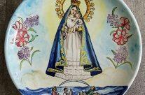 Plato Virgen del Cobre