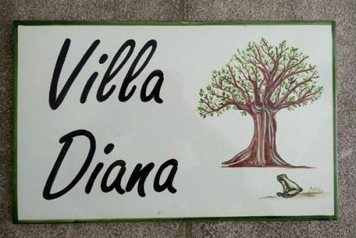 Villa Diana.