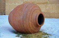 Cocer cerámica al aire libre