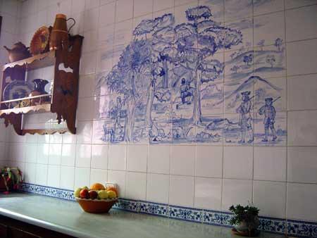 Mural cer mica cocina cer mica art stica matilde for Ceramica para cocina