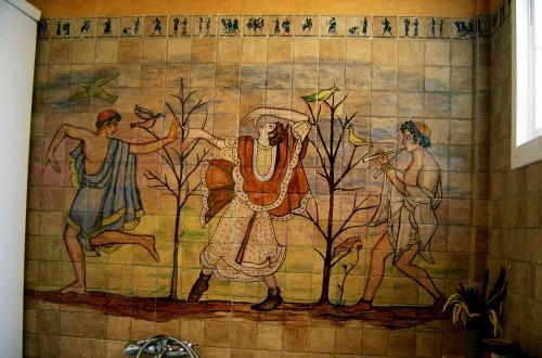 Murales integrados en la obra cer mica art stica matilde - Murales de ceramica artistica ...