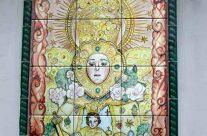 Retablo religioso de la Virgen del Rocío de Almonte. Huelva